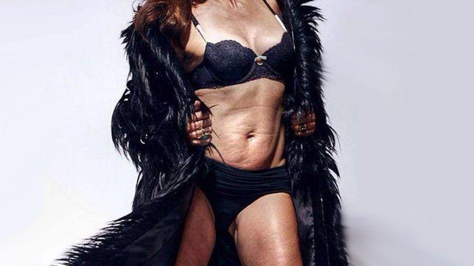 Auch ohne Photoshop schön! SO sieht ein Supermodel ohne Retusche aus