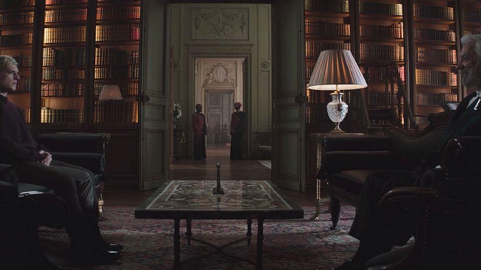 President Snow Threatens Peeta In New Mockingjay - Part 1 Deleted Scene