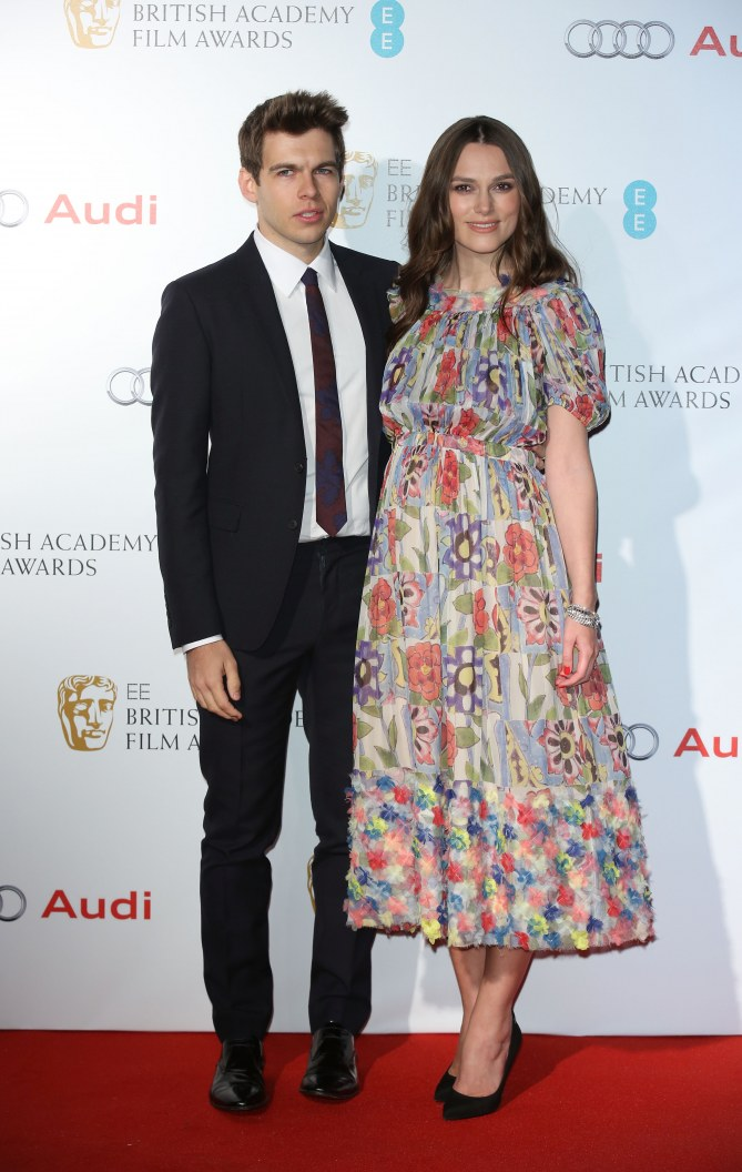 Keira Knightley et son mari