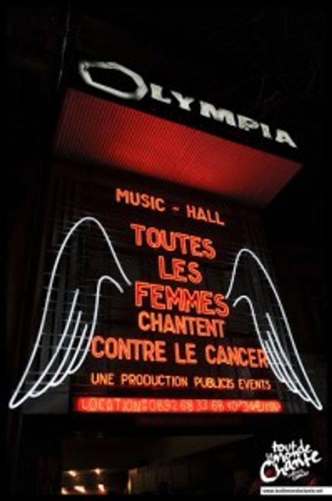 """Concert """"Toutes les femmes chantent contre le cancer"""""""