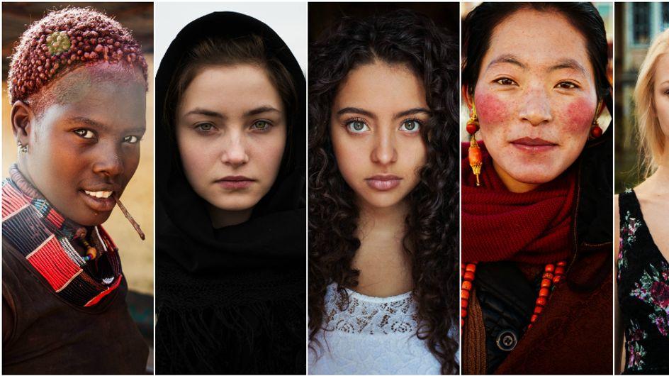 34 foto di donne di tutto il mondo che dimostrano che la bellezza è ovunque