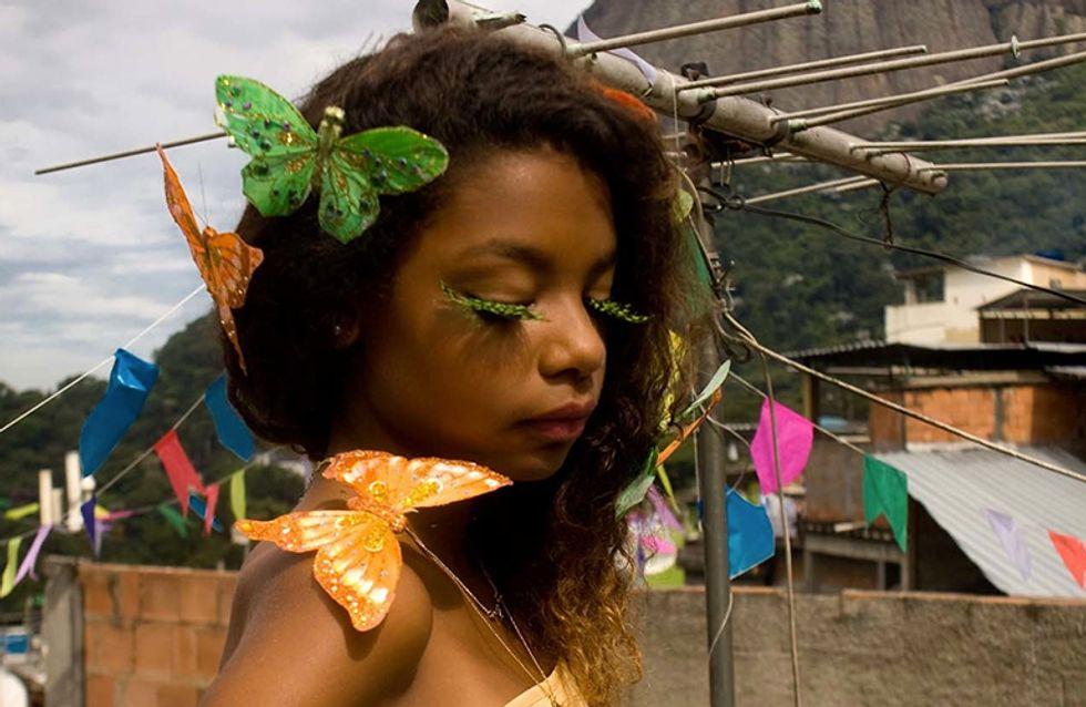 Niños de favelas posan tal y como querrían ser vistos por el mundo