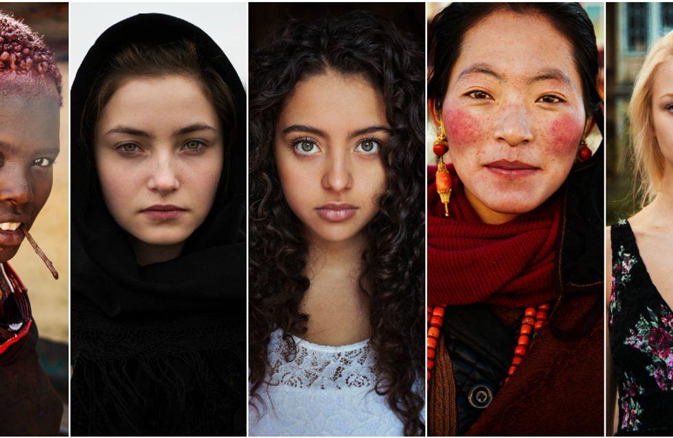 34 fotos de mulheres que provam que a beleza está nas diferenças
