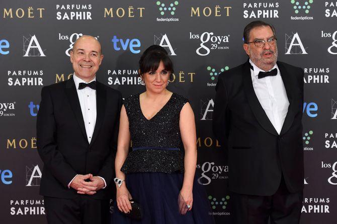 Antonio Resines, Judith Colell y González Macho