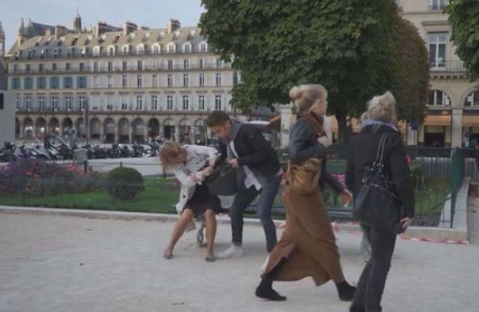 The agression, la vidéo qui dénonce la passivité des témoins face à la violence