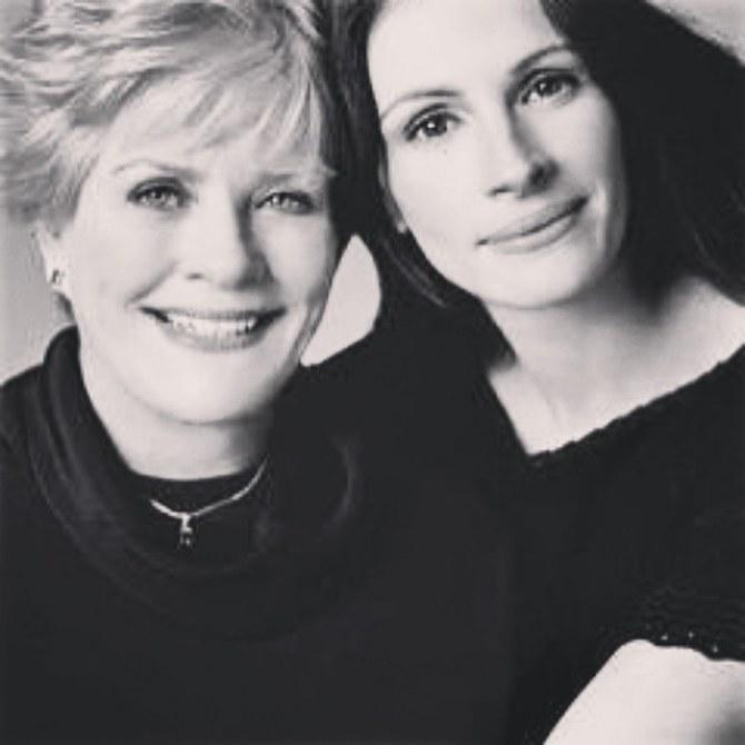 Julia Roberts et sa mère