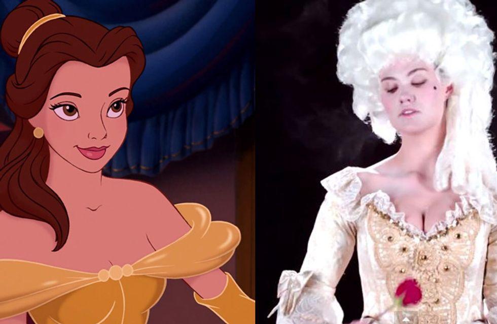 Et si les robes des princesses Disney ressemblaient à ça...