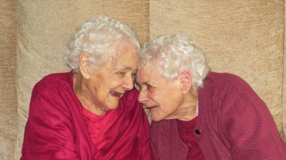 L'irrésistible histoire de Glenys et Florence, les jumelles les plus âgées du monde
