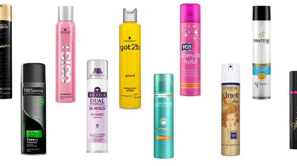 10 Of The Best Strong-hold Hairsprays