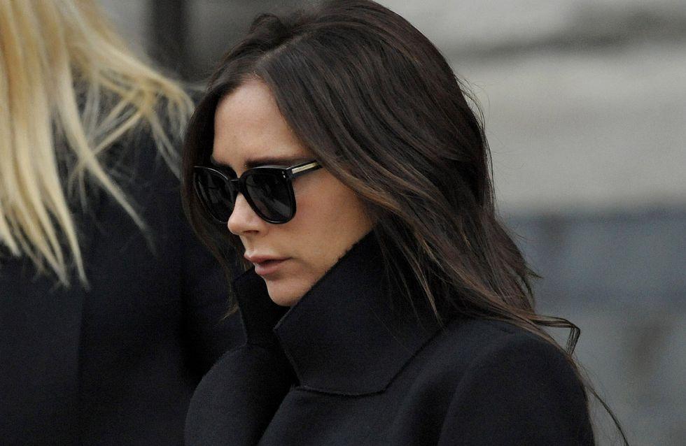 Victoria Beckham trop bête pour assister aux défilés d'Alexander McQueen
