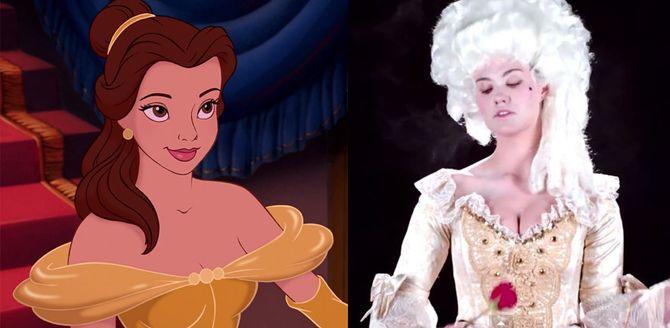 Et si les robes des princesse Disney avaient ressemblé à ça...