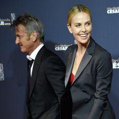 Charlize Theron et Sean Penn, glam'oureux mais morts d'ennui aux César (Photos)