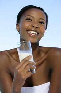 Le lait contient aussi de l'eau