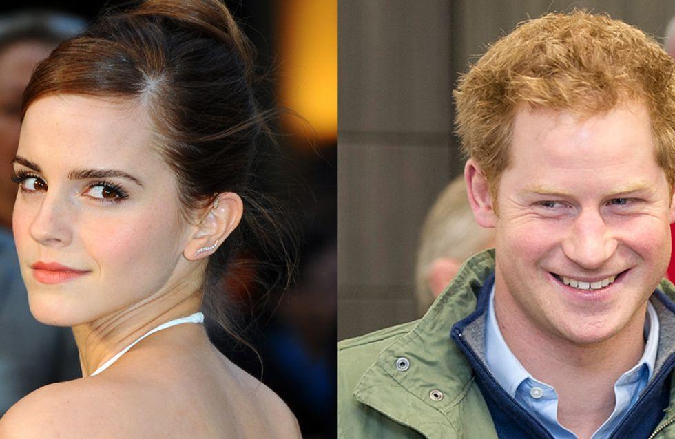 Emma Watson en couple avec le prince Harry ?