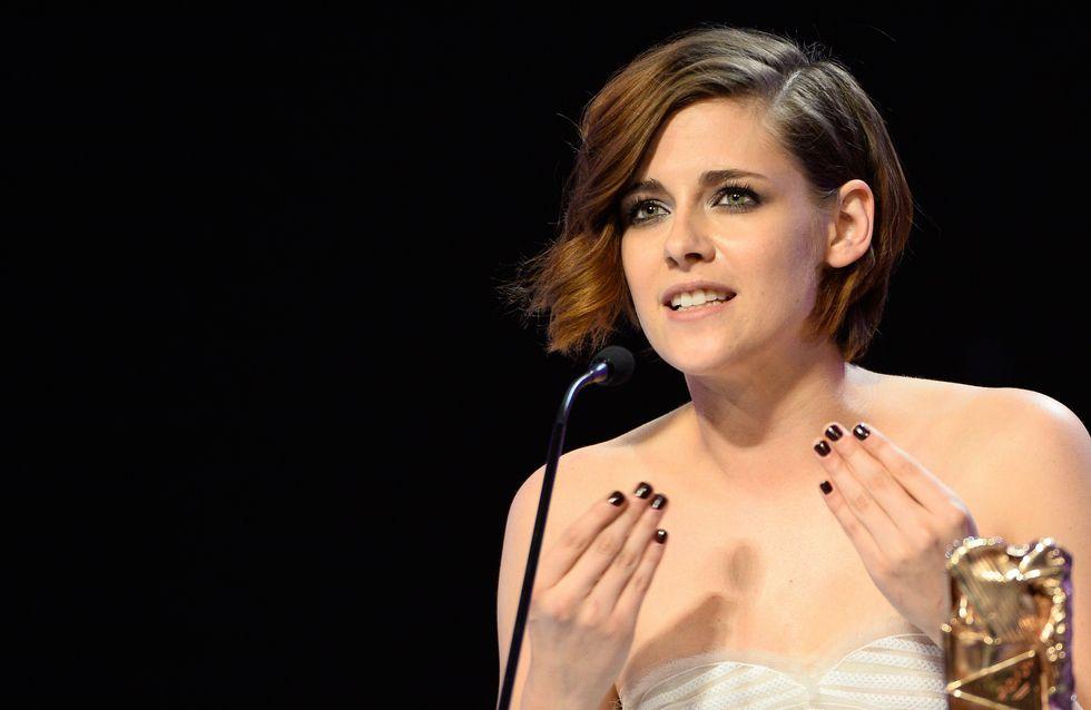 Kristen Stewart, ultra nerveuse pour recevoir son César (Vidéo)