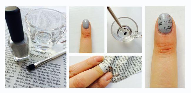 Ein Nagelstudio Für Zu Hause 3 Einfache Diy Looks