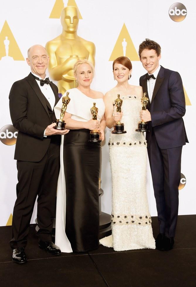Le palmarès des Oscars 2015