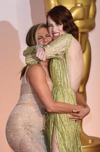 Jennifer Aniston e Emma Stone