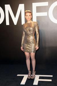 Scarlett Johansson à la soirée Tom Ford.