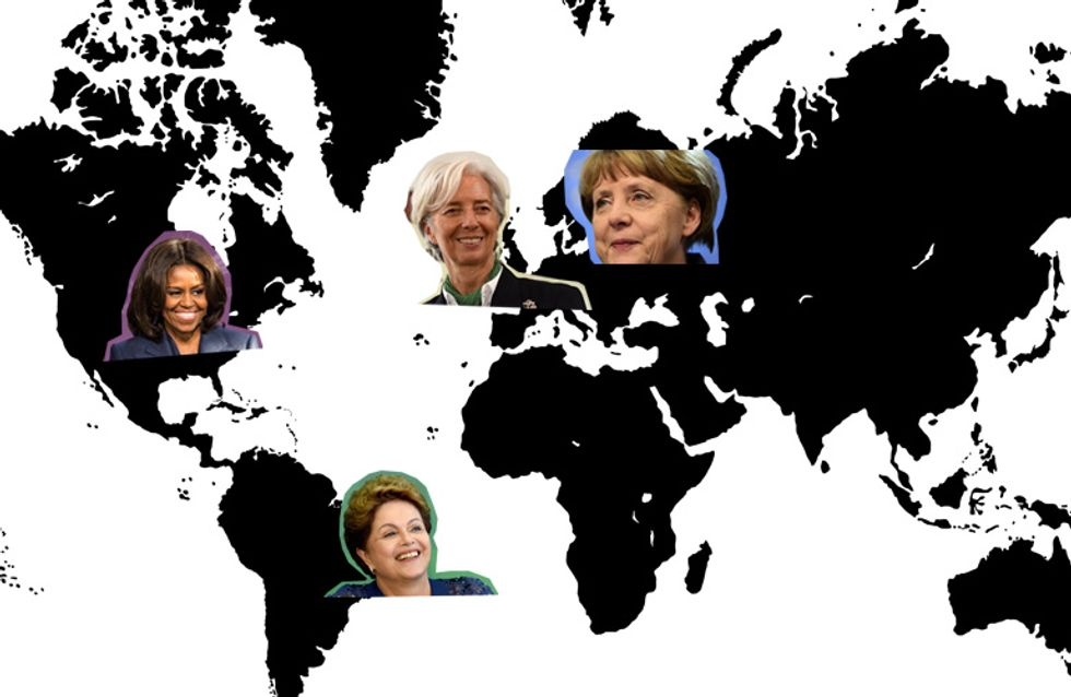 Angela Merkel & Michelle Obama? DAS sind tatsächlich die 10 mächtigsten Frauen der Welt