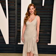 Jessica Chastain en H&M pour l'after party des Oscars 2015 (Photos)