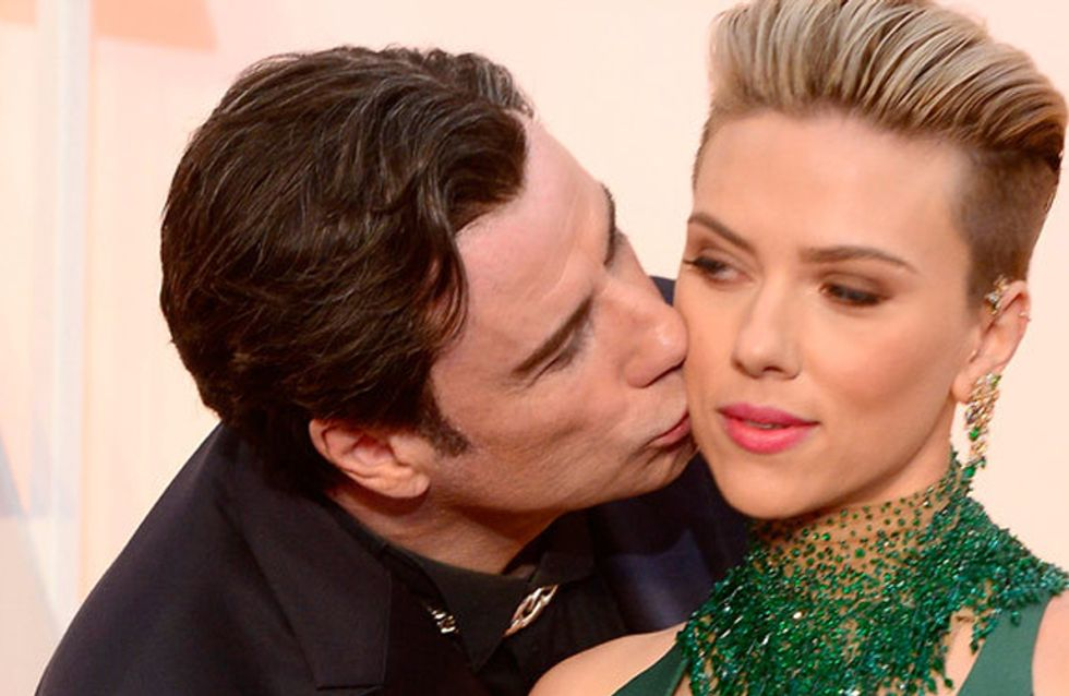 Can We Talk About How Creepy John Travolta Was At The Oscars?