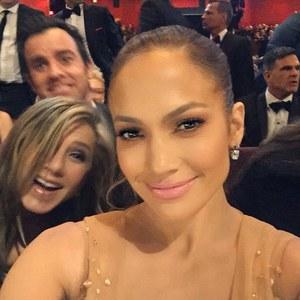 JLo, Jennifer Aniston & Justin Theroux, Oscars 2015