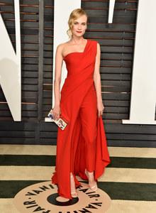 Diane Kruger à la soirée Vanity Fair.