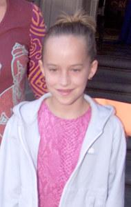 Dakota Johnson en 2000