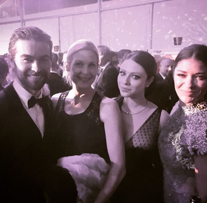 Chace Crawford, Kelly Rutherford, Michelle Trachtenberg & Jessia Szohr