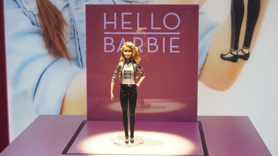 La nouvelle poupée Barbie à reconnaissance vocale fait polémique