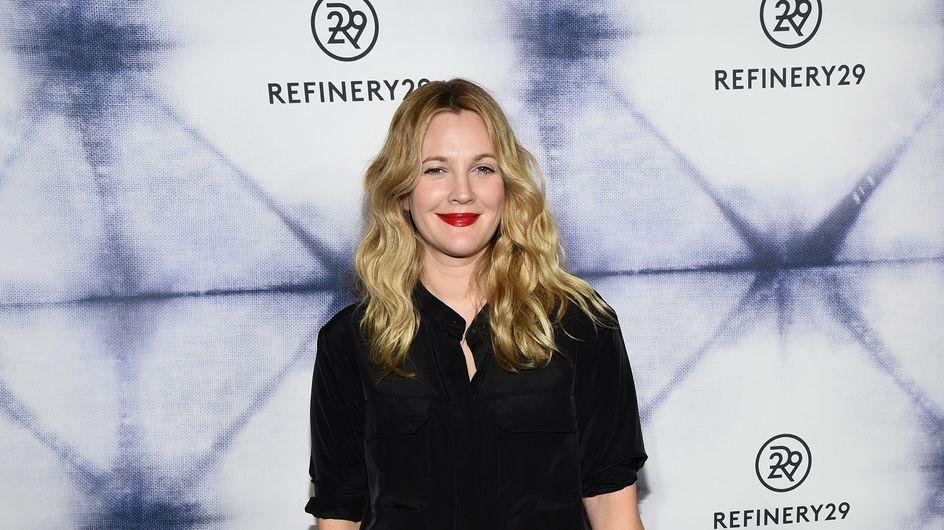 Drew Barrymore sans maquillage pour ses 40 ans (Photo)