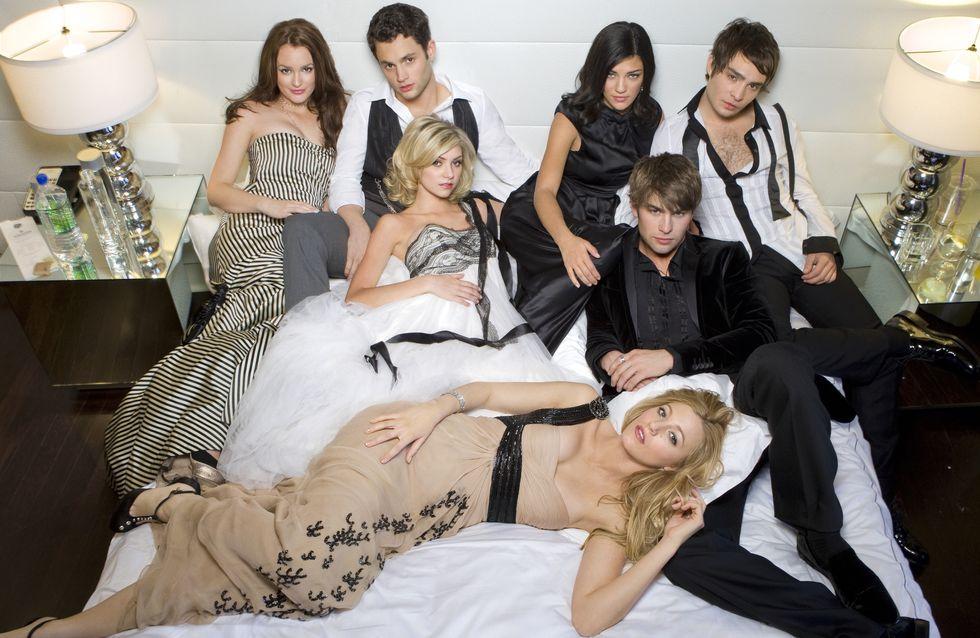 Les acteurs de Gossip Girl se retrouvent aux Oscars (Photo)