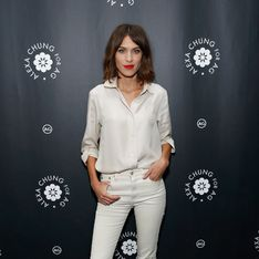 On copie le total look white d'Alexa Chung