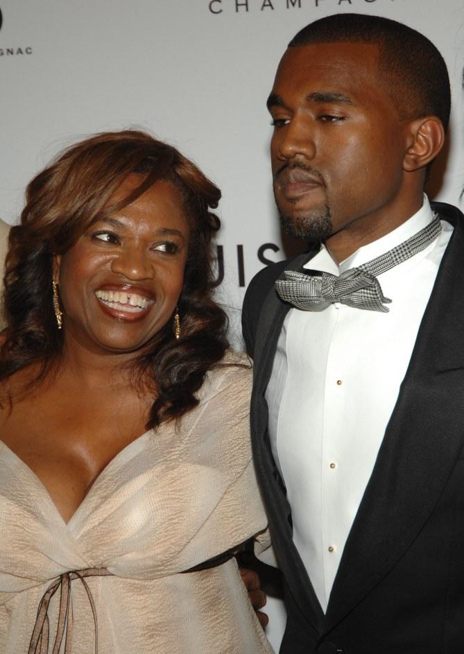 Kanye West et sa mère