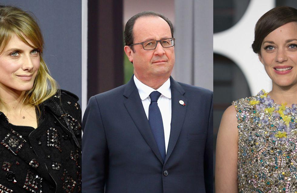 Marion Cotillard et Mélanie Laurent partent en voyage avec François Hollande