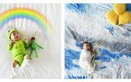 Kinderfotos mal ganz anders: Dieses kleine Baby erlebt die größten Abenteuer!