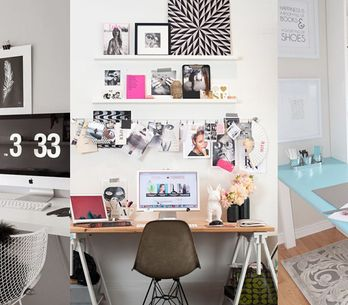 22 Genius Ways to Style Your Desk Space: Home Office Decorating Ideas