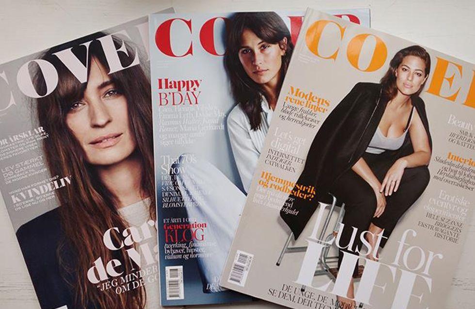 Un magazine danois fait polémique à cause d'une photo de mannequin très maigre