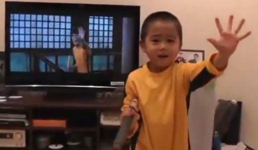 Il piccolo Bruce Lee
