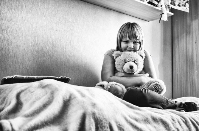 Polina, 11 Jahre, will Sängerin werden.