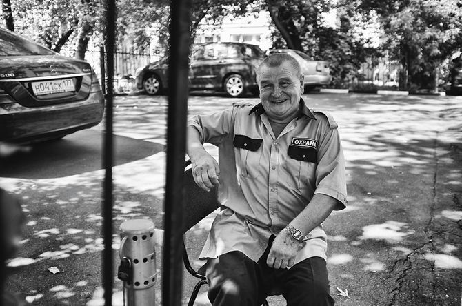 Vadim, 70 Jahre, will ein langes Leben haben.
