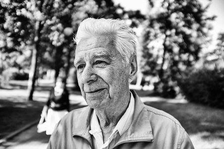 Igor, 80 Jahre, wünscht sich ein starkes Russland.