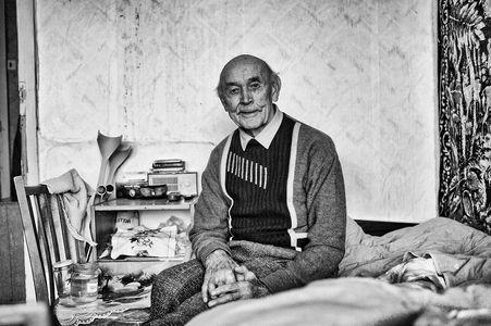 Leonid, 90 Jahre, möchte lange so gesund sein wie gerade.