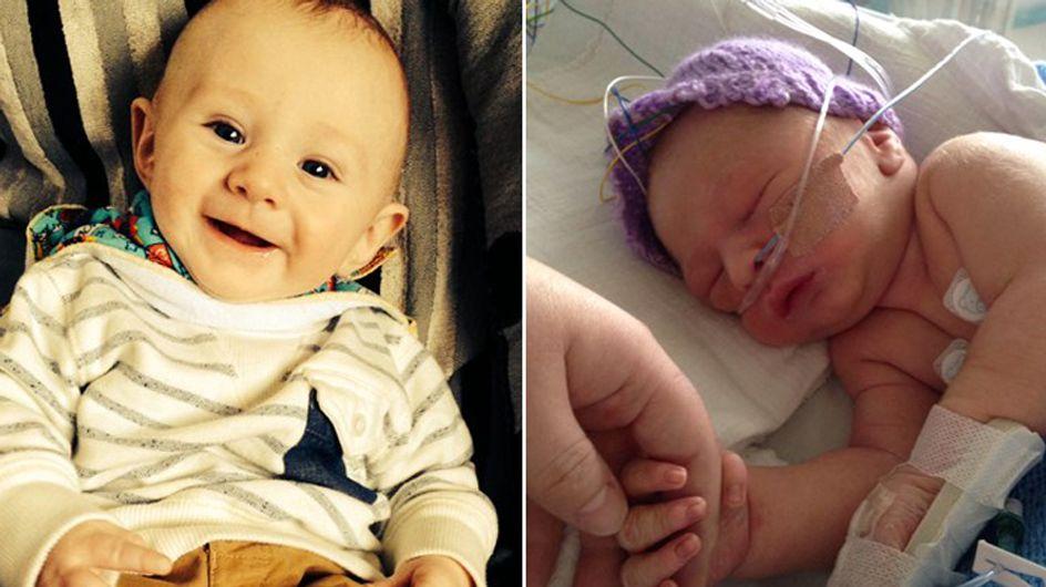 Baby wird ohne Herzschlag geboren - doch es kämpft sich zurück ins Leben