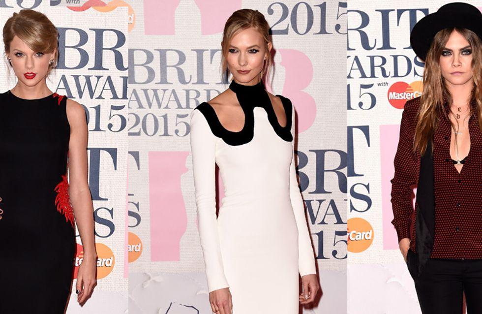 Taylor Swift, Karlie Kloss... Les tops et flops des Brit Awards 2015