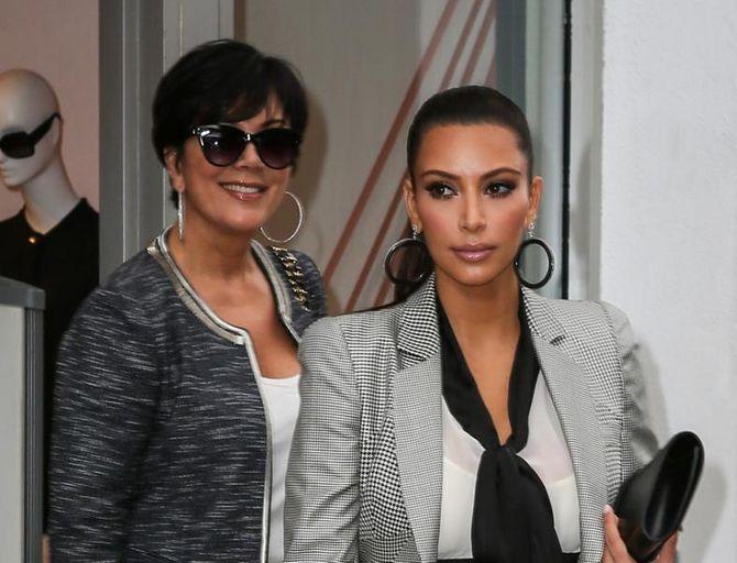 Kim Kardashian und Mama Kris Jenner