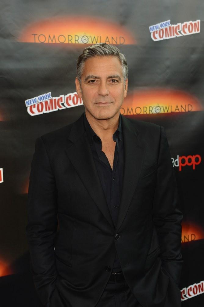 George Clooney au Comic Con.