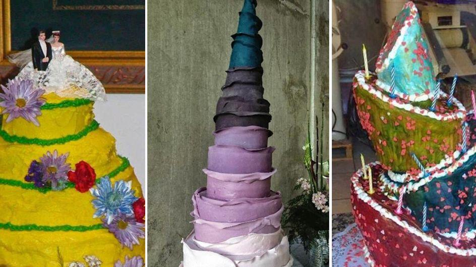 25 torte nuziali talmente brutte che vi faranno passare la voglia di sposarvi!