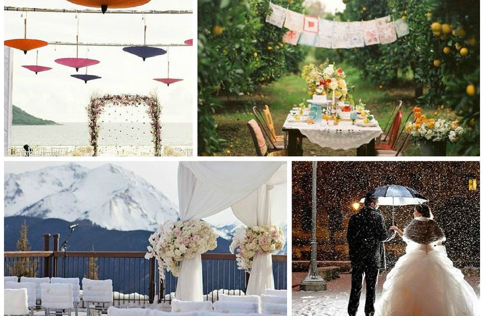 17 décors de mariage incroyables dénichés sur Instagram